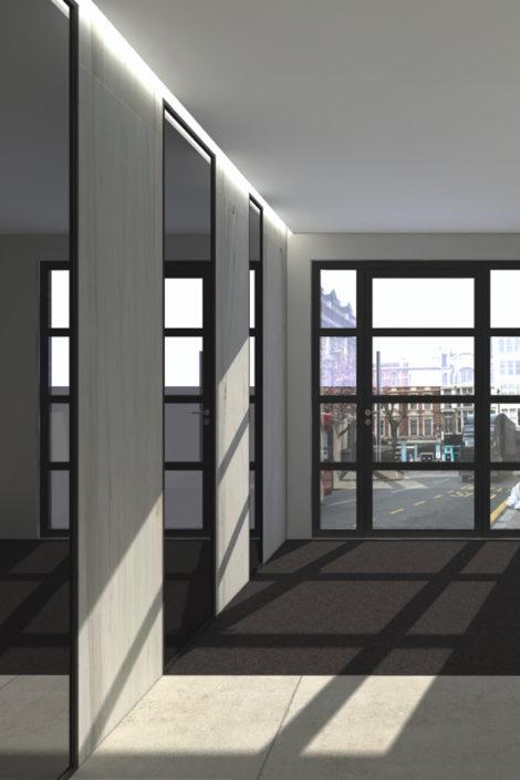 Aboco-bouwcoordinatie-interieur-exterieur-decoratie-renovatie-antwerpen-APP-gebouw-ingang